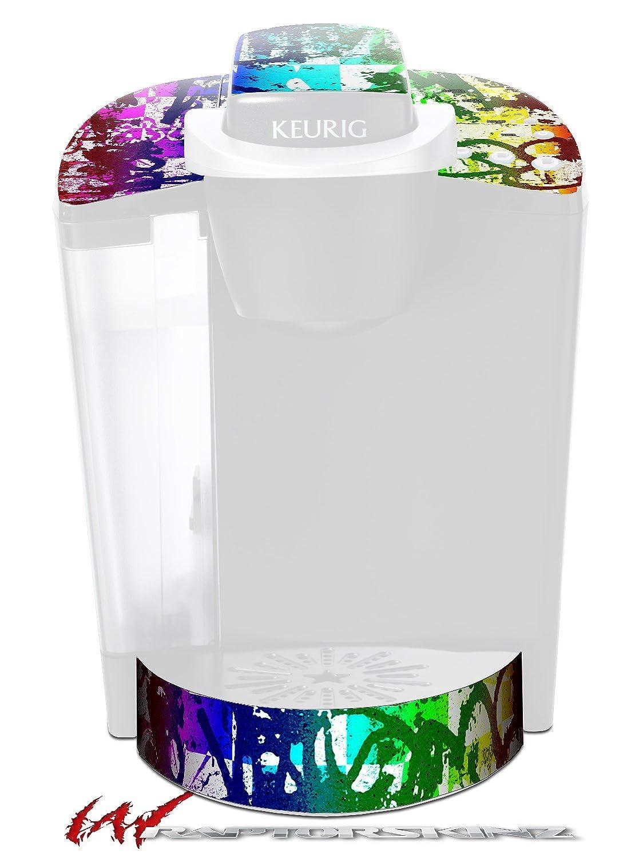 レインボーグラフィティ – デカールスタイルビニールスキンFits Keurig k40 Eliteコーヒーメーカー( Keurig Not Included )   B017AK9KR6