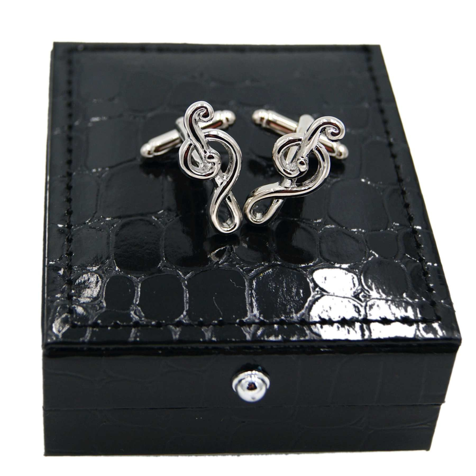 RXBC2011 Men's Music Note Style French Shirts Cufflinks 1 Pair Set by RXBC2011 (Image #8)