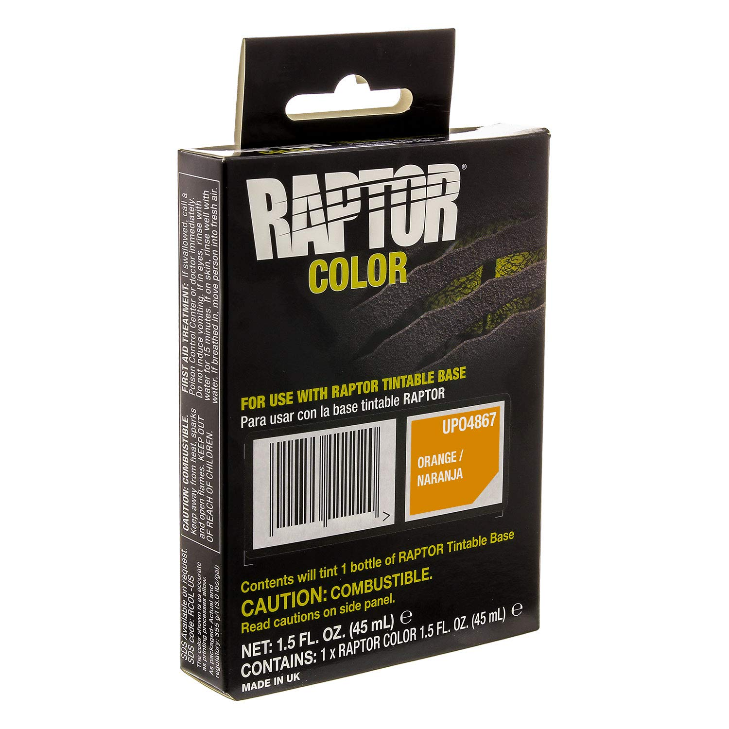 U-Pol Raptor Color Tint Pouches Orange