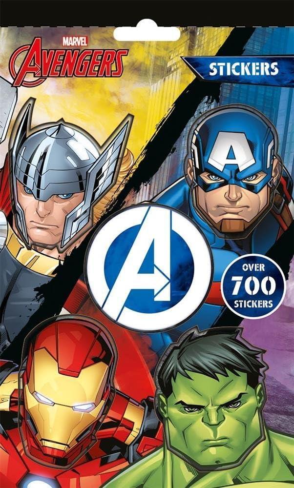 Desconocido Marvel Avengers 700 Pegatinas Colección Pack Incluye ...
