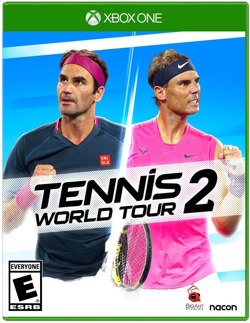Tennis World Tour 2: Maximum Games: Video Games