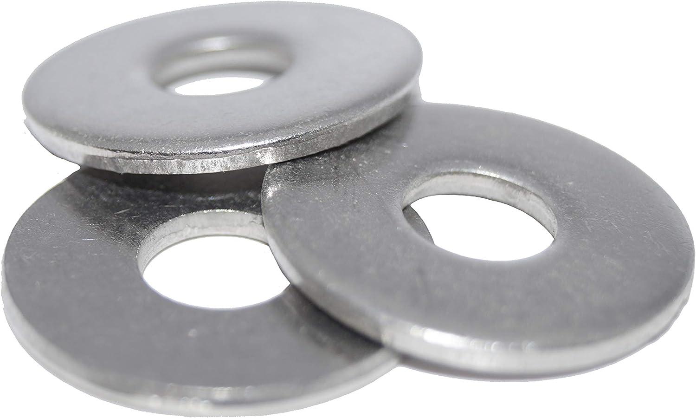 Bohrungsdurchmesser 8.4 10 St/ück DIN 9021 A2 Edelstahl Gro/ße Unterlegscheiben M8