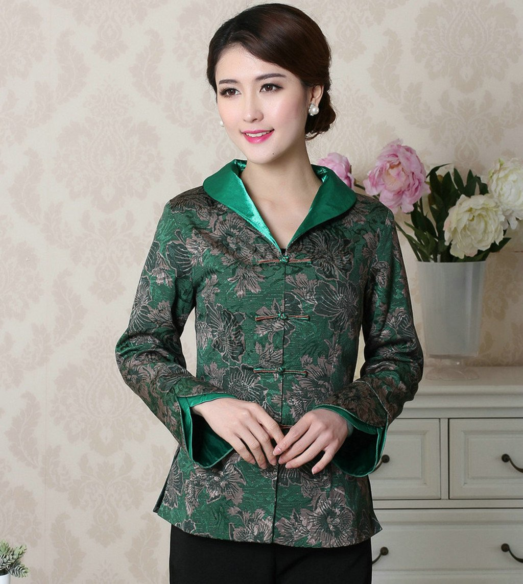 Womens Tang Suits Chinese Style Coats Retro Jackets Full Dress Formal Dress Womens Jackets Business Jackets by Womens Tang Suit (Image #3)