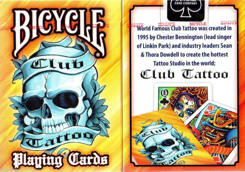 Club juego de diseño de bicicleta 2 Deck Playing Cards Poker ...