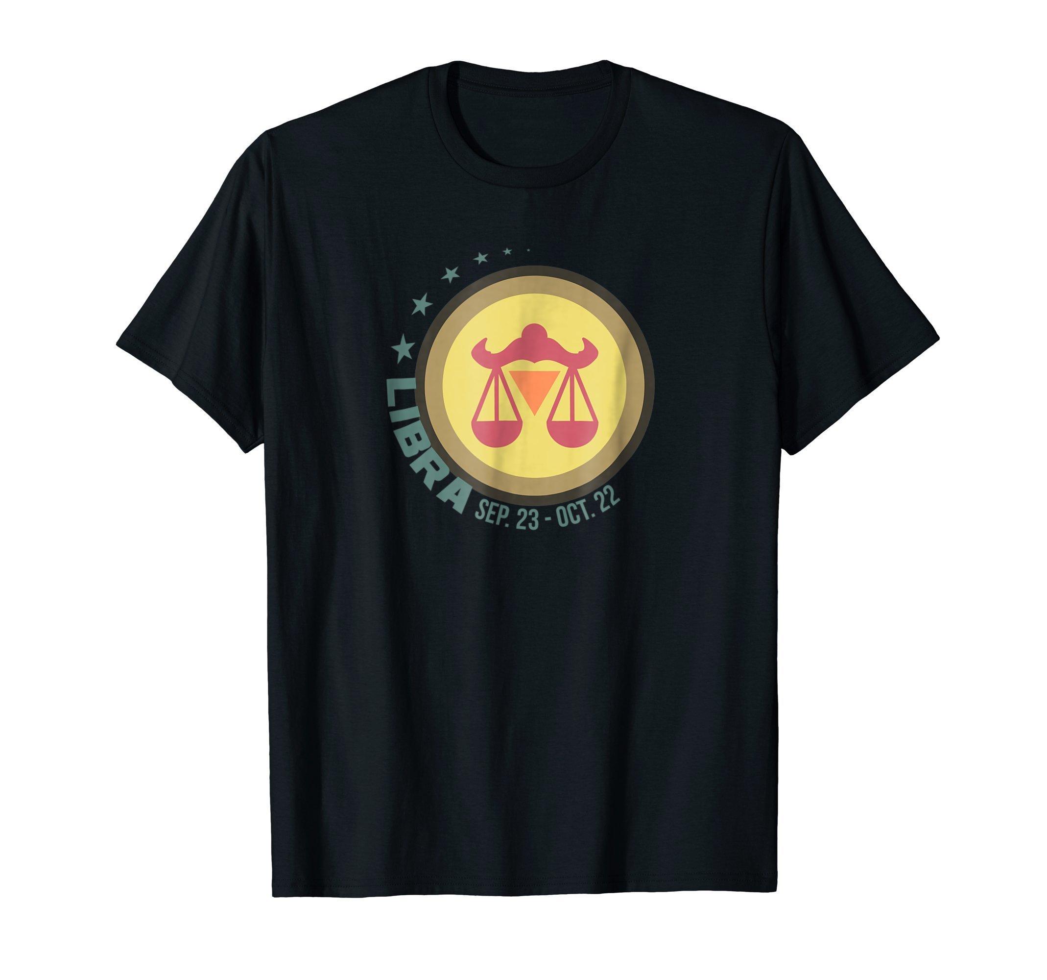 Libra Zodiac Sign T Shirt