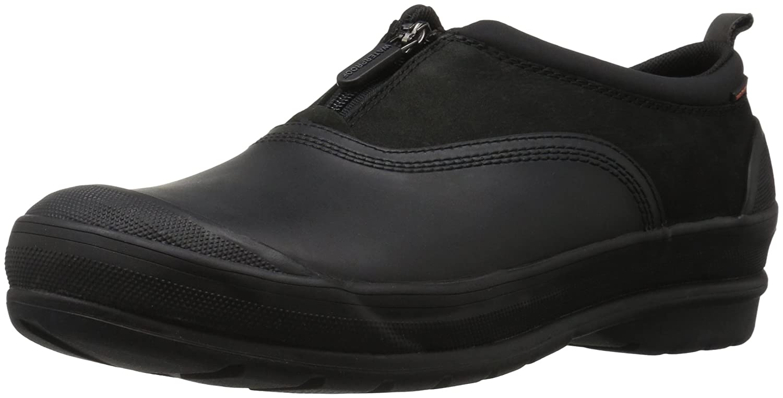 CLARKS Women's Muckers Trail Rain Shoe B01NAN725L 7 W US|Black
