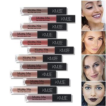 Amazon com : 12 pc long lasting matte me nude brown color