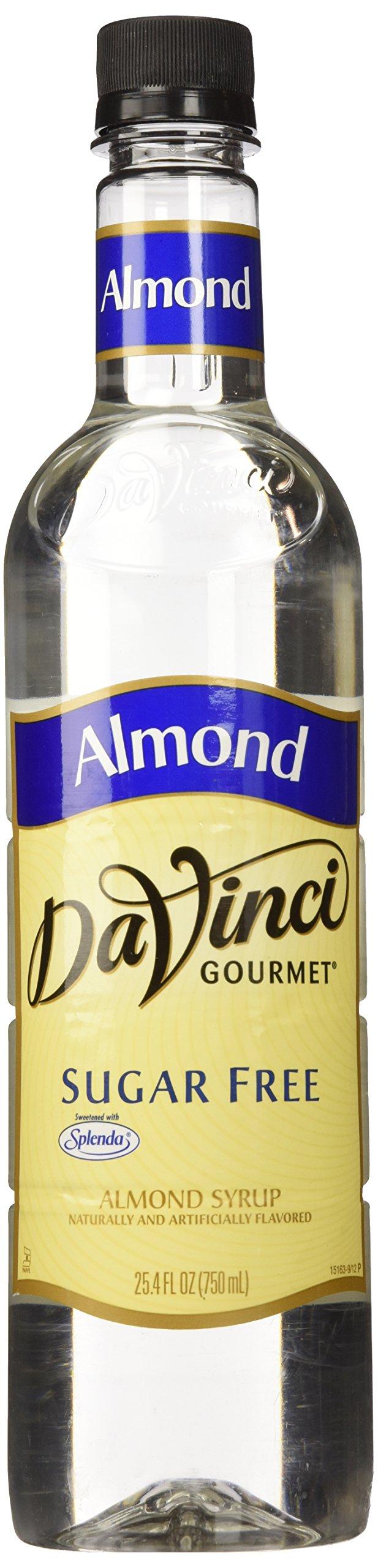 Davinci Sugar-Free Almond Syrup - 750Ml Plastic Bottle