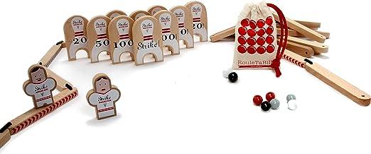 Les Jouets Libres Bowling Club juego de canicas: Amazon.es ...