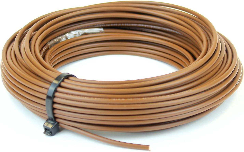marron neutre Bleu vif C/âble mono-conducteur 6491X de 6/mm Rouleau complet ou diverses tailles disponibles jaune et vert terre