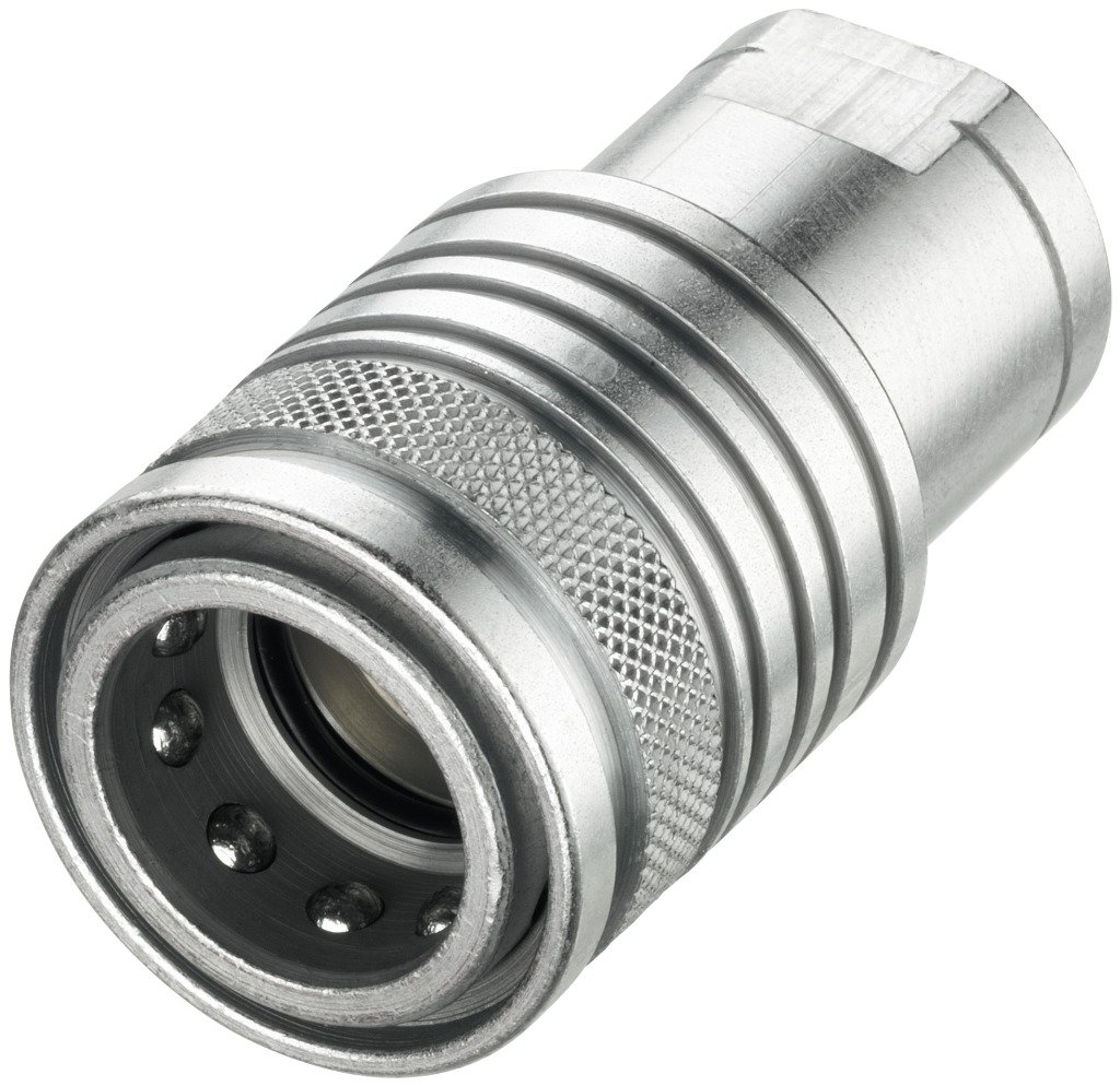 Push-to-Connect Coupling female body size 3, female thread 1/2 Voswinkel HP10-1-IGF08