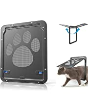 LUYA Pet Screen Door - Pet Window Screen Dog - Quiet Damping and Quickly Return for Dogs and Cats