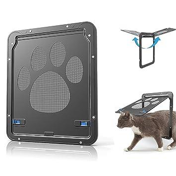 Amazon.com: LUYA - Puerta para mascotas – ventana de mascota ...