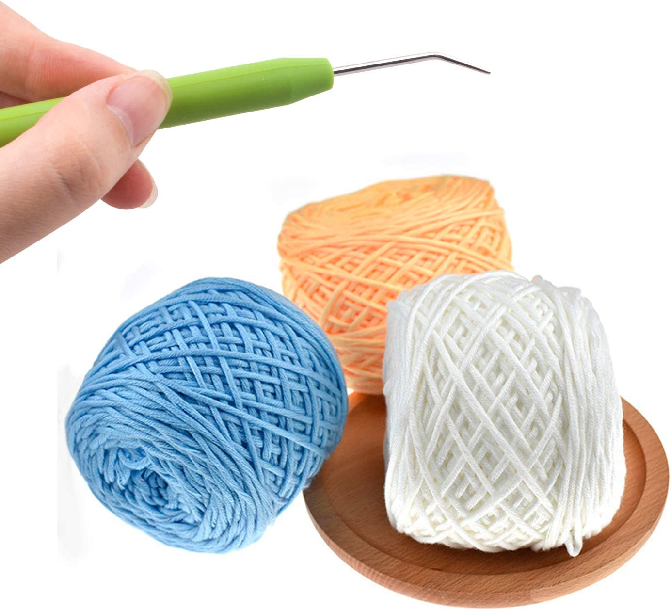 gancho de ganchillo para telar Knitter Knitting Topker 1 Set de aguja