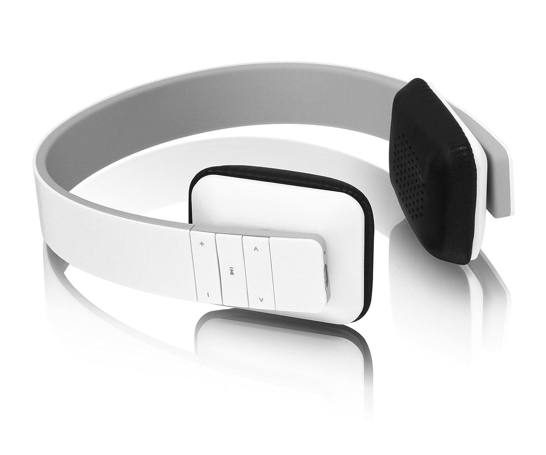Aluratek ABH04F Blanco Supraaural Banda para cuello auricular: Amazon.es: Electrónica