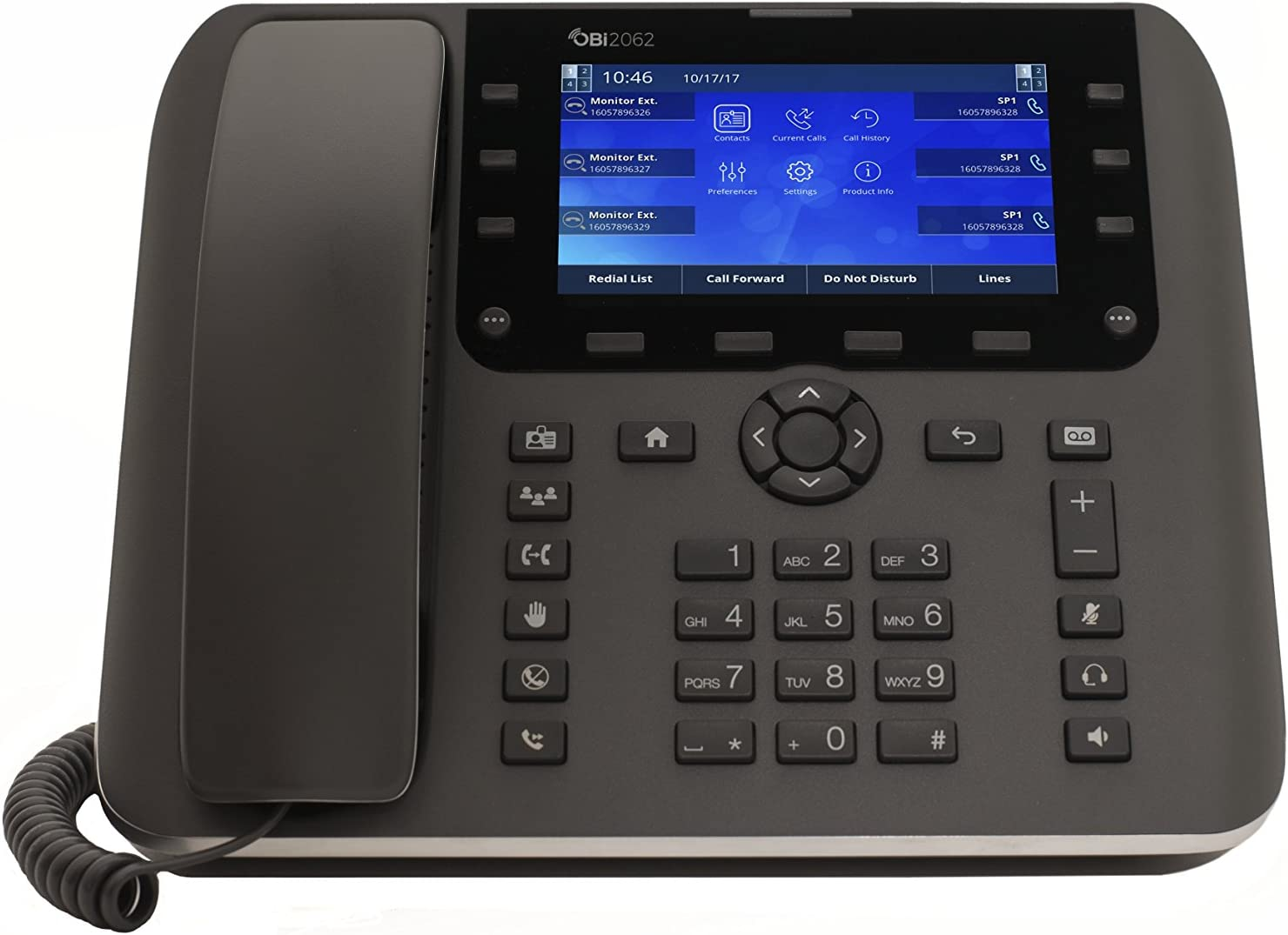 Obihai OBi2000 Series Gigabit IP Phones (OBi2062)