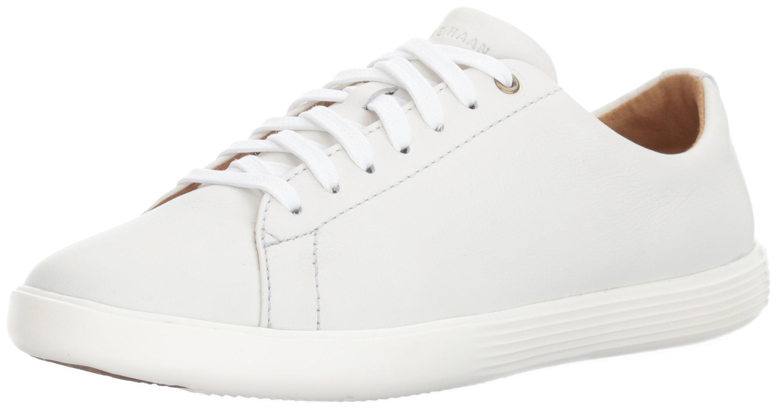 29184b1fce Galleon - Cole Haan Women's Grand Crosscourt II Sneaker, Bright  Leather/Optic White, 8 B US