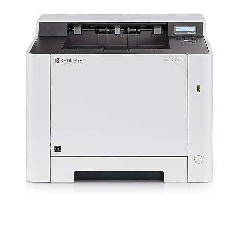 Kyocera Ecosys P5021cdn - Impresora láser a color (21 ppm, A4, doble cara, 1200 dpi, USB 2.0) - Soporte de Mobile Print para smartphone y tablet