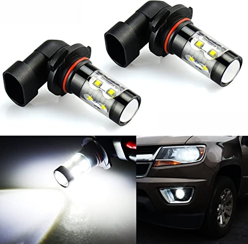 JDM ASTAR 9145 Bright White LED Fog Light Bulbs