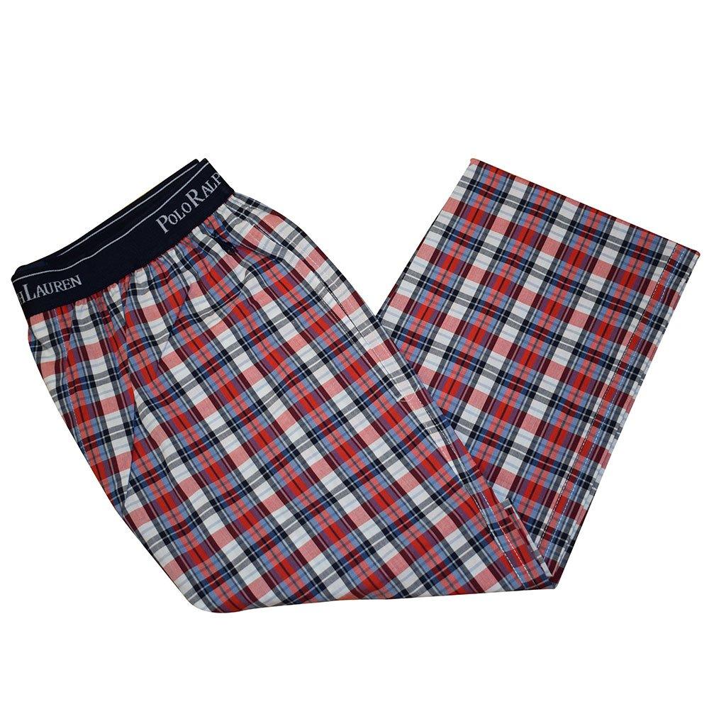 Ralph Lauren - Pantalon de pijama - Estampado a cuadros (S): Amazon.es: Ropa y accesorios