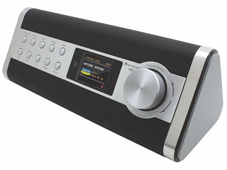 soundmaster highline ir3000dab internet fm dab radio black silver - Avox Indio Color