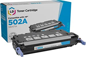 LD Remanufactured Toner Cartridge Replacement for HP 502A Q6471A (Cyan)