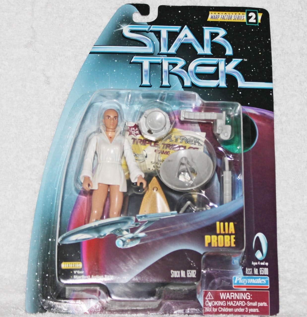 Star Trek The Motion Picture: Warp Factor Series 2 Ilia Probe 4 inch Action Figure