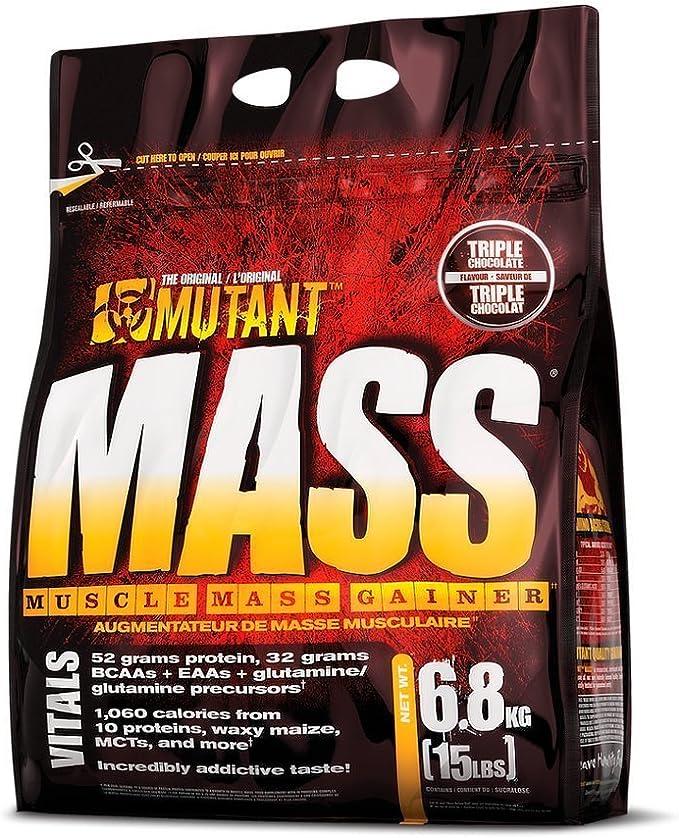 Proteinas Mutant Mas, 6,8 kg, sabor fresa y plátano