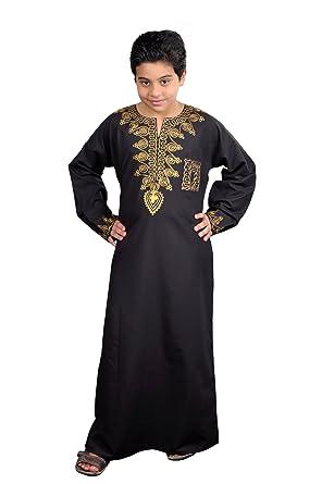 fe6dfaf7c9fa18 Egypt Bazar Moderner Kinder-Kaftan