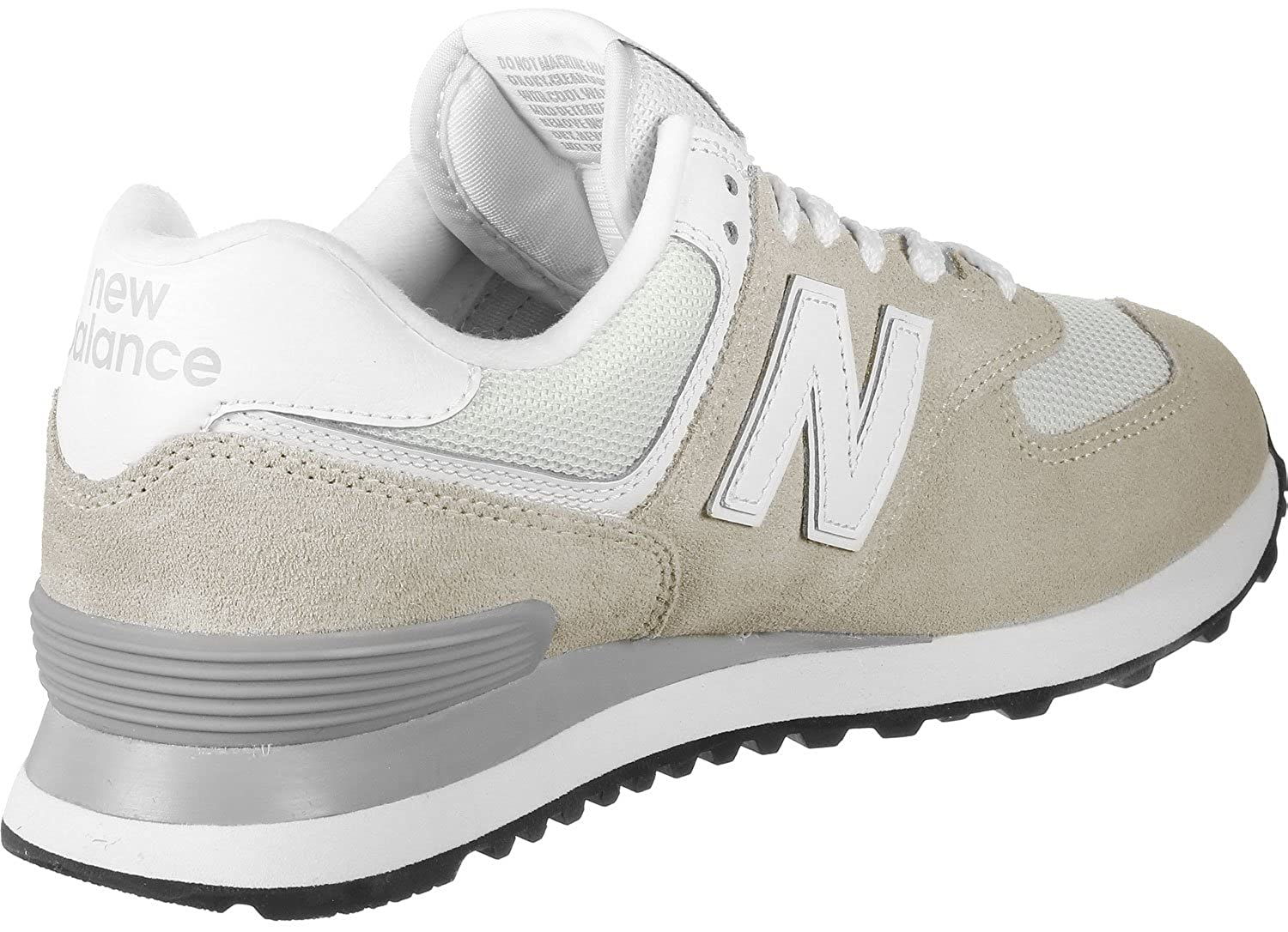 3af20c759f29c Amazon.com: New Balance 574 Womens Sneakers White: Clothing