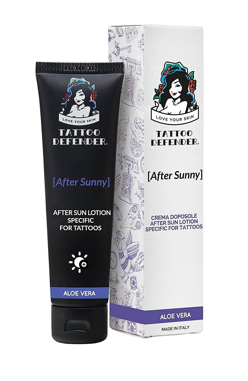 Tattoo Defender After Sunny - After Sun lotion specific for tattoos 100ml