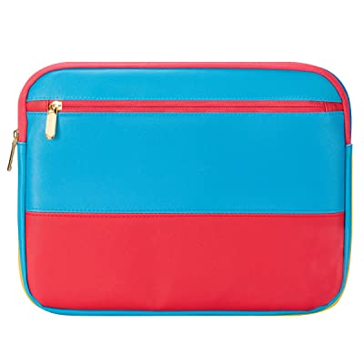 """13 Inch Laptop Sleeve 13.3 Inch for Macbook Air/Pro/Retina Display 12.9 Inch iPad Case Bag 13"""" Laptop case compatible with Apple/Samsung/HP/Asus/Acer/Dell etc Assorted color Blue&red"""