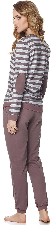 Merry Style Pigiama Manica Lunga Donna MS10-107