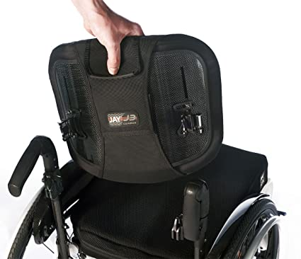 Sunrise Medical Jay J3 carbono silla de ruedas Espalda