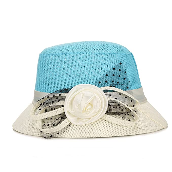 CHENGXIAOXUAN Sombrero Señora Verano Sombrero Del Sol Viajes ...