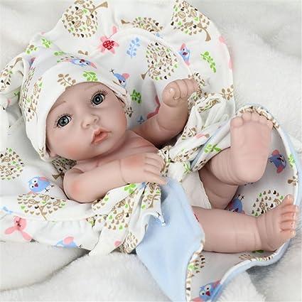 Muñeco realista Samber de un recién nacido fabricado a mano en ...