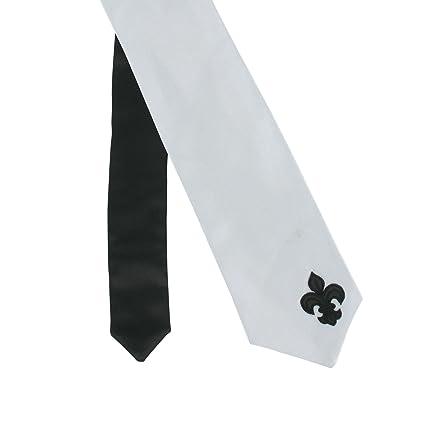 SiaLinda: corbata negra y Yemanja, plata, satén, con base de ...