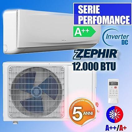 Aire Acondicionado Inverter DC 12,000 BTU Zephir A ++ A + Bomba de Calor