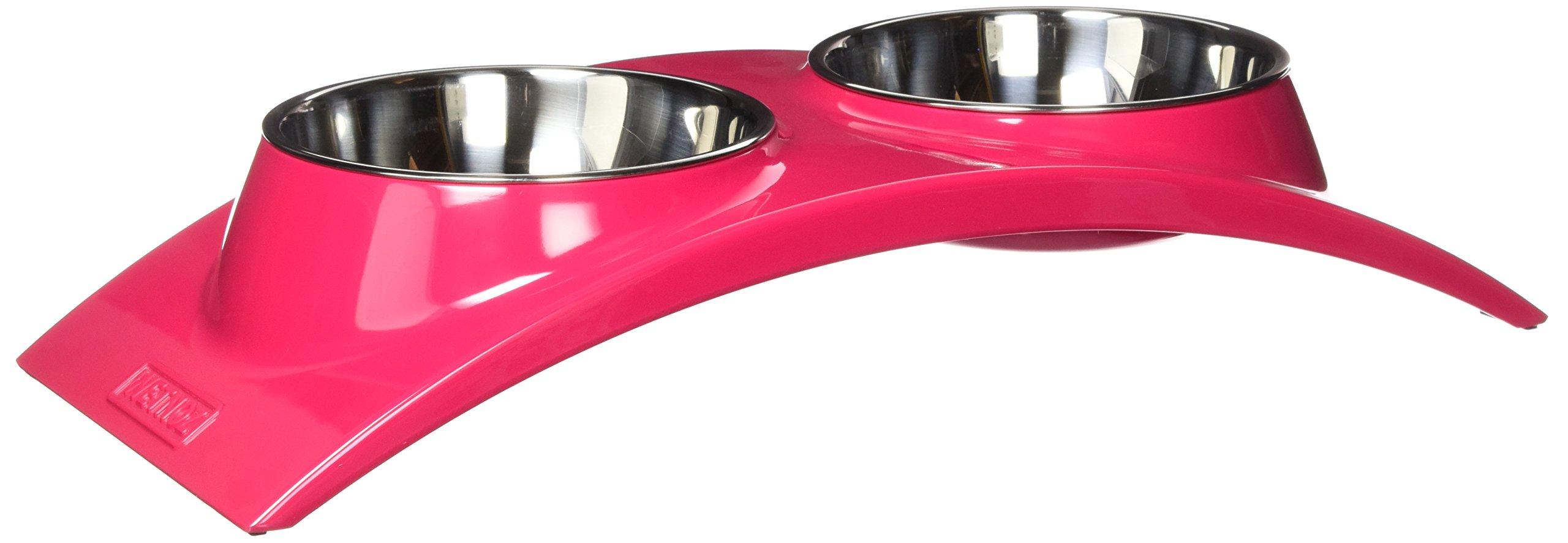 Wetnoz 23900 Arc Diner for Pets, Medium, Hibiscus