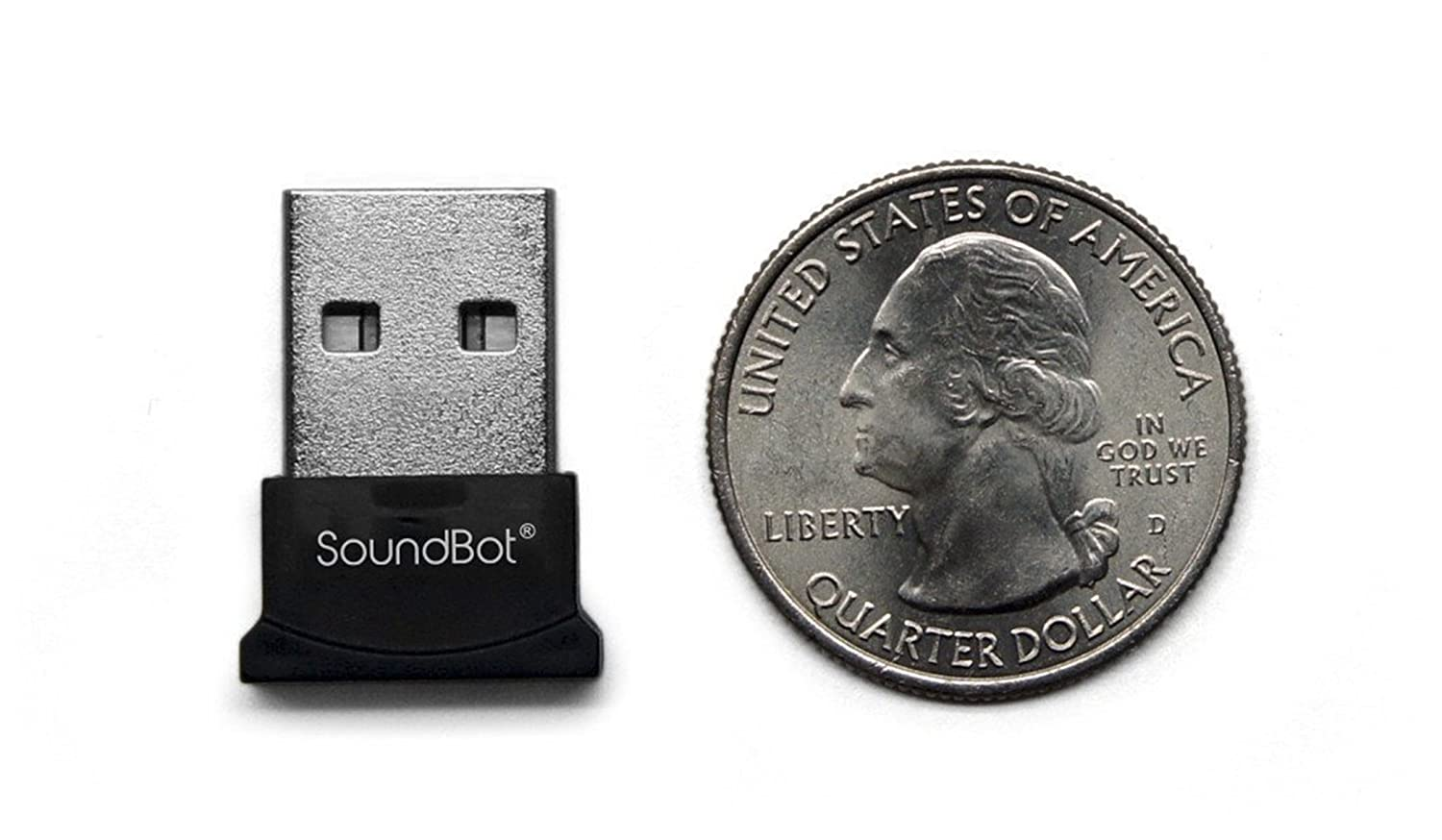 soundbot SB342-BLK Bluetooth 4.0 USB Adapter with 3Mbps High Data Transfer Rate /& 33 Feet Wireless Range