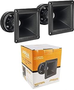 1 Pair PRV Audio WG175Ph 150W 8-Ohms Tweeter/Horn Driver DT175Ph-S and WG11-25