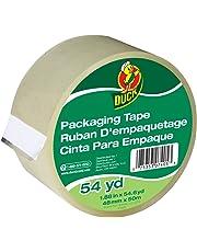 """Duck Brand Standard Grade Packaging Tape, 1.88""""x54.6 yd, Single Roll, Clear (240408)"""