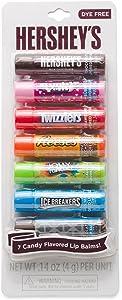 Hersheys Candy Flavored Lip Balms Chapped Lip Moisturizer set of 7