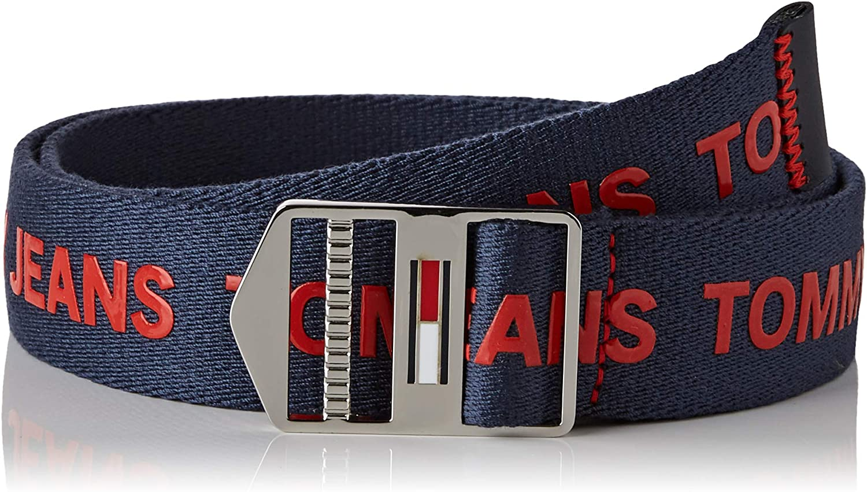 Taglia Produttore: 100 , Uomo Tommy Hilfiger Tjm Explorer Belt 3.5 Cintura Multicolore Multi Cbk