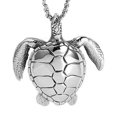 bijoux tortue argent