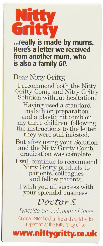 Nitty Gritty 150ml Aromatherapy Head Lice Kit Oakwood Remedies 5060010680017