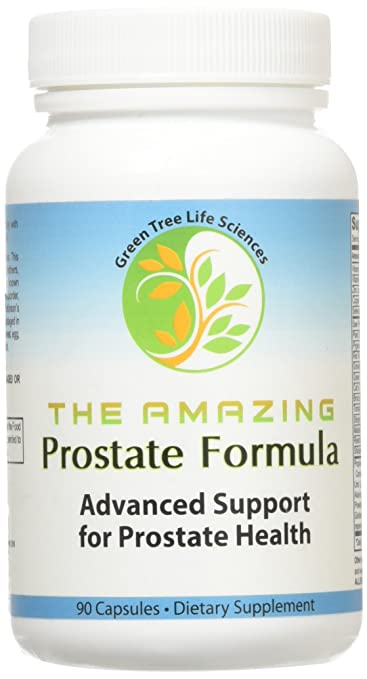 Prostate Support Supplement - The Amazing Prostate Formula with Saw Palmetto and Beta Sitosterol (1