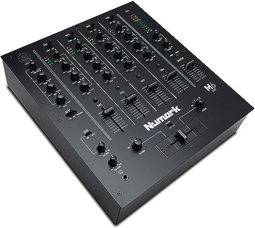 Numark M6 USB | 4-Channel DJ Mixer