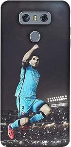 ColorKing Football suarez Uruguay 04 Multicolor shell case cover for LG G6
