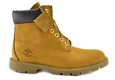 Timberland Men's 6-Inch Basic Waterproof Boots Wheat 18094 (7.5 D(M)